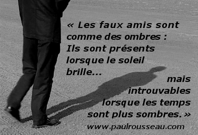 Faux amis ombres